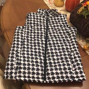 NWT  Jason Maxwell Puffer Vest  Size XS